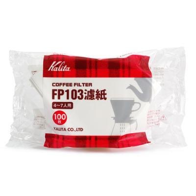 Whatcoffee칼리타 FP 103 필터 백색 100매