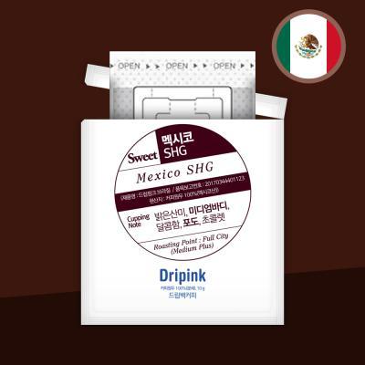 드립핑크 멕시코 SHG 10g 드립백커피