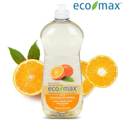 [에코맥스] 캐나다 친환경 주방세제 오렌지 740ml