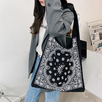 쥬레니 보헤미안 페이즐 가벼운 에코백 천가방