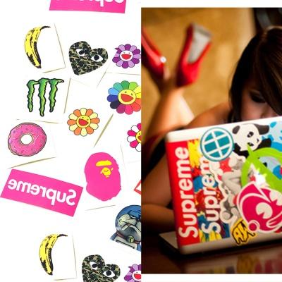 노트북 맥북 스트릿 브랜드 베이프 슈프림 스티커팩