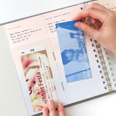 인디고 나의 티켓북(100포켓)