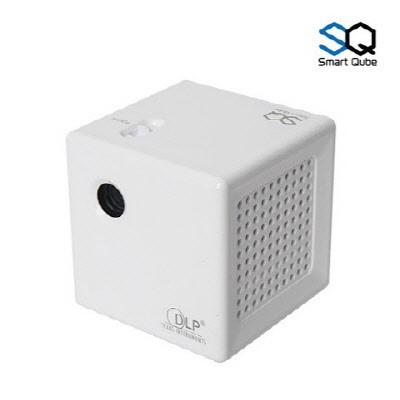 스마트빔 큐브 프로젝터 화이트