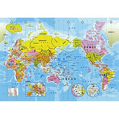 1000조각 직소퍼즐▶ 세계지도 한글판 (PL1134)