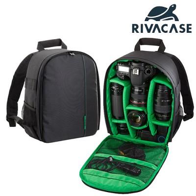 SLR 카메라 백팩 가방 RIVACASE 7460 (분리 가능한 패딩 칸막이 / 카메라 백팩)