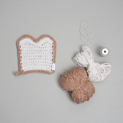 식빵 냄비받침 - 코바늘 키트