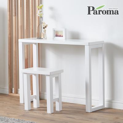 파로마 루갈 800콘솔 원목테이블 + 의자세트 ET04