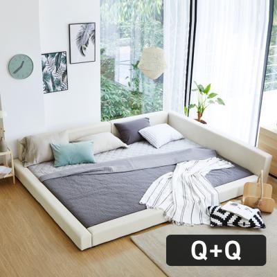 모닝듀 쿨잠 패밀리침대 가족형-1 Q+Q(양면매트)OT044
