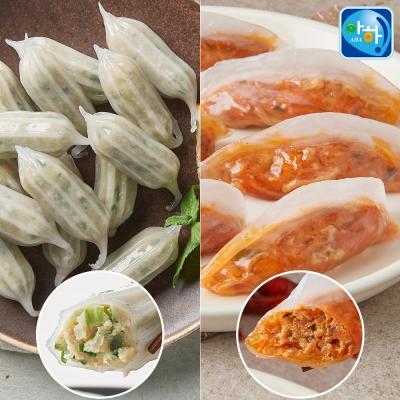 [아하식품] 꼬물이고기만두+쿡찌니주꾸미만두(총4팩)