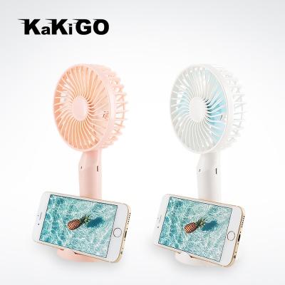 카키고 스마트폰 거치대 USB 휴대용 미니 선풍기