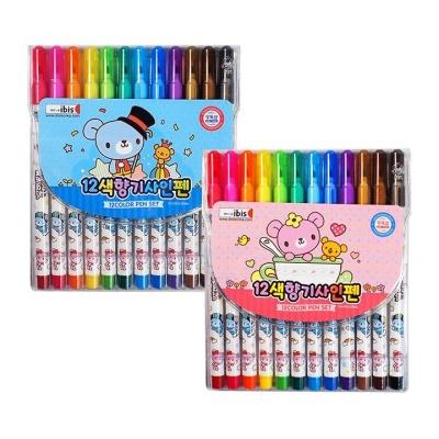 아이비스 12색향기사인펜(CR)-핑크