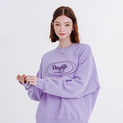 데이라이프 로고 스웨트 셔츠 (퍼플)