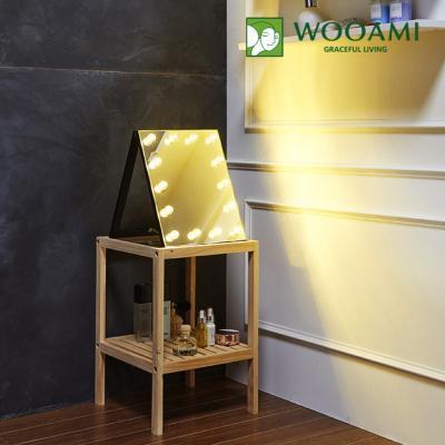 [우아미] 퍼블릭 LED 탁상용 거울