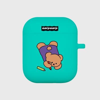Doodle bear-mint(Air pods)