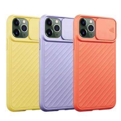 뮤즈캔 아이폰11프로Max 카메라슬라이드 파스텔케이스