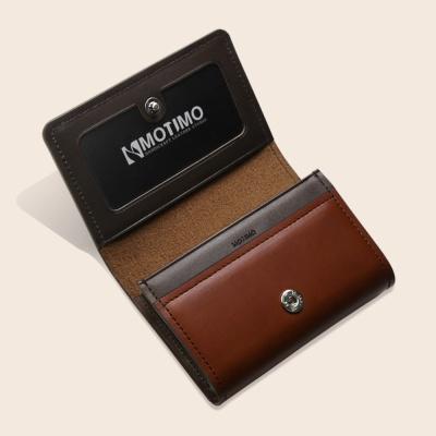 [남성카드.명함지갑]보노(베지터블)수제가죽 명함지갑
