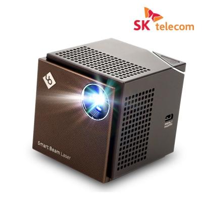 SK 스마트빔레이저 미니빔프로젝터 HD화질 레이저