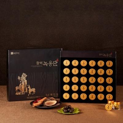 [종근당 활력녹용단] 선물세트+선물보자기