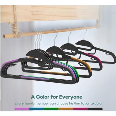 회전고리 옷걸이 옷장정리 세탁 수납 용품 10가지색상