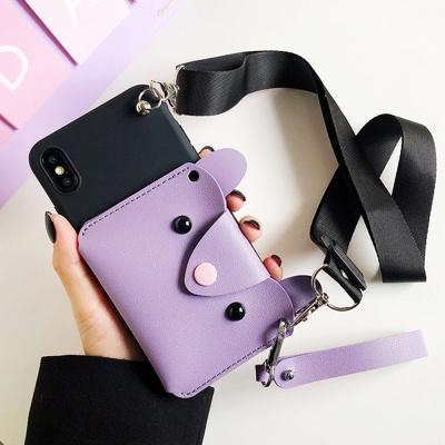 아이폰x xs max xr 맥스 귀여운 심플 카드 지갑케이스