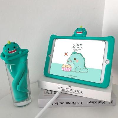 아이패드 7세대/에어/미니/입체 캐릭터 실리콘 케이스