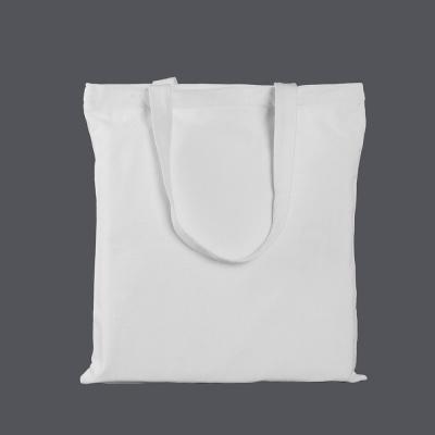 캔버스 포켓 에코백(화이트) (33x36cm)