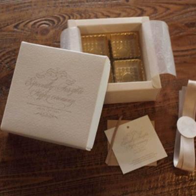 초콜릿 사탕 디저트 4구 포장 선물 박스 상자 용품