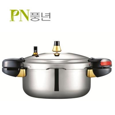 PN풍년 프로파이브 압력솥 (통5중) / FFPC-08 (4.5L/8인용)