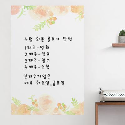 ch899-은은한장미꽃_칠판시트지