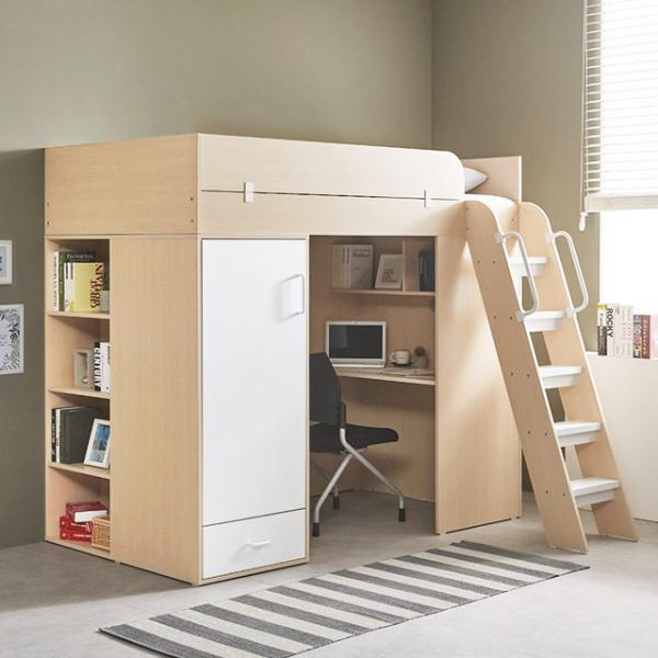 [e스마트] 하우스 독서실책상 벙커침대