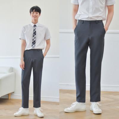 [빅사이즈] 하복 허리조절 먹색 교복바지(남자) ~6XL