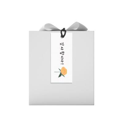 땡큐 노랑꽃 텍 (10개)