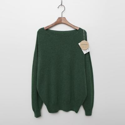 Maille Alpaca Wool Lip Two Sweater