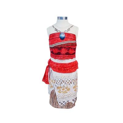 모아나 드레스