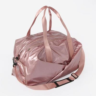 라이트 멀티수납 더플백(핑크)