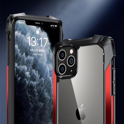 아이폰11 PRO MAX 투명 슬림 범퍼 컬러 하드 폰케이스