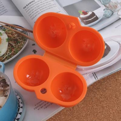 캠핑랜드 휴대용 2구 계란케이스/ 에그홀더 계란통