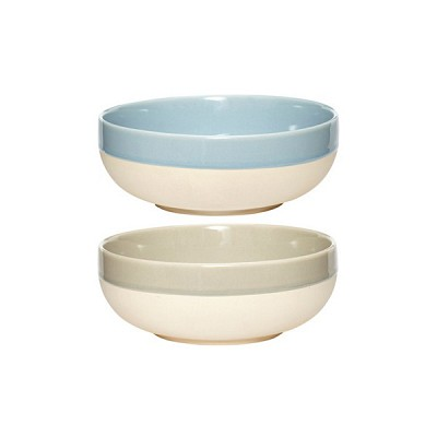 [Hubsch]Bowl ceramics blue grey sand 볼