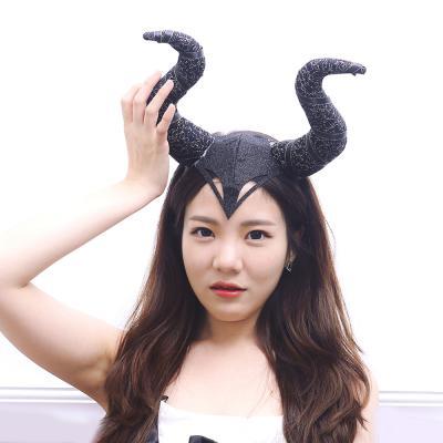 마녀 뿔 머리띠 (말레피센트)