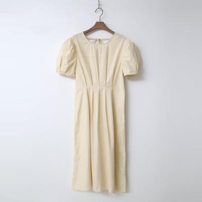 Stitch Puff Dress