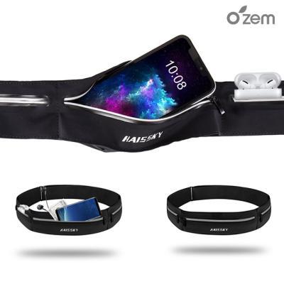 오젬 아이폰XR XS 스마트폰 스포츠 포켓 허리밴드