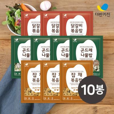 [더반키친]곤드레4+닭갈비3+잡채3