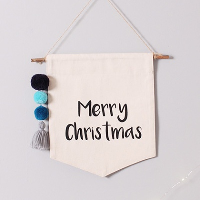 크리스마스 월배너(블루)