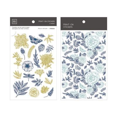 Miccudo 프린트-온 스티커 Ver.2 (15. Herbal Flower)