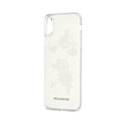 몰스킨 T 아이폰XS MAX-클리어 케이스 + 페이퍼 템플릿