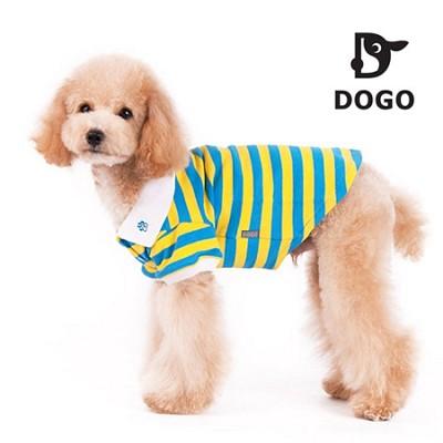 도고 폴로 애견셔츠(옐로우) 애견 티셔츠/강아지 옷/애견의류