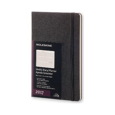 몰스킨 2017위클리(가로형)/블랙 하드 L