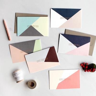디비디 크리스마스 카드세트 - Simple Cubic