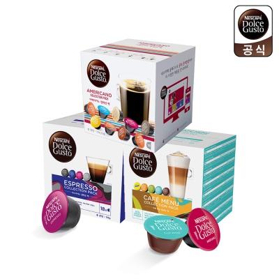 돌체구스토 커피캡슐 스페셜 팩 3종