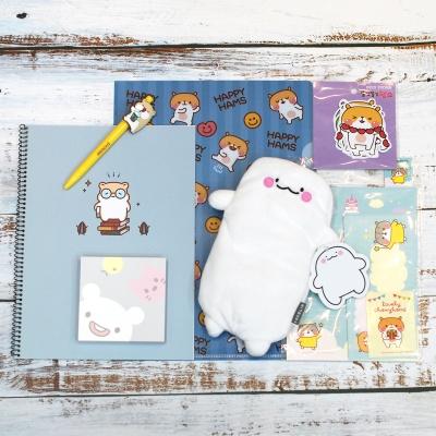 한국 정품 캐릭터 선물세트 문구세트